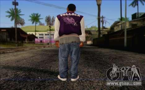 Ballas from GTA 5 Skin 2 for GTA San Andreas second screenshot