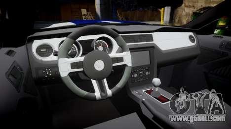 Ford Mustang GT 2014 Custom Kit PJ2 for GTA 4 inner view