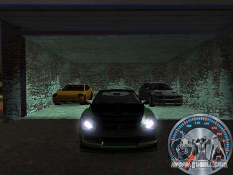 Classic metal speedometer for GTA San Andreas third screenshot