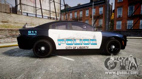 Dodge Charger 2015 City of Liberty [ELS] for GTA 4 left view