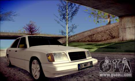 Mercedes-Benz E320 Delta Garage for GTA San Andreas right view
