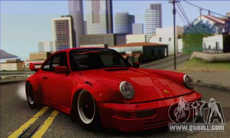 Porsche 930 Turbo Look 1985 Tunable for GTA San Andreas right view