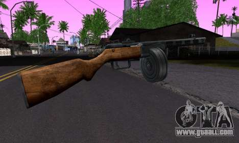Gun Shpagina for GTA San Andreas second screenshot