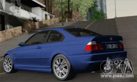BMW E46 M3 for GTA San Andreas left view
