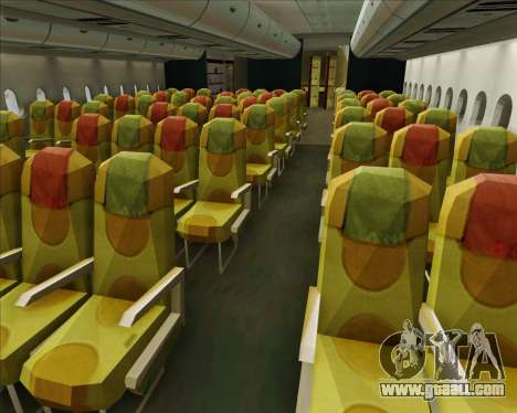 Airbus A380-800 Skymark Airlines for GTA San Andreas wheels