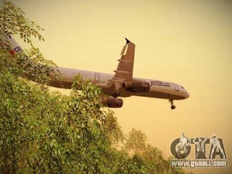 Airbus A321-232 jetBlue I love Blue York for GTA San Andreas engine