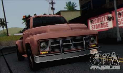 Towtruck GTA 5 for GTA San Andreas