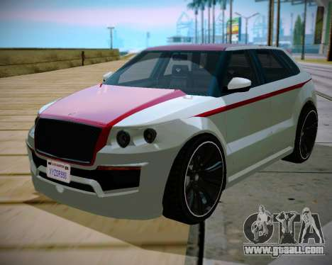 Huntley S for GTA San Andreas