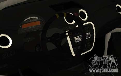 Citroen C2 for GTA San Andreas back view