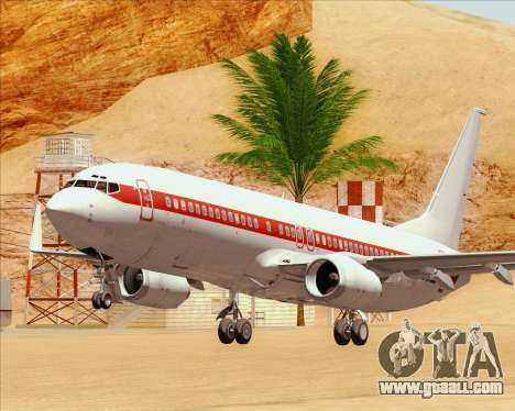 Boeing 737-800 EG&G - Janet for GTA San Andreas bottom view