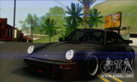 Porsche 930 Turbo Look 1985 Tunable for GTA San Andreas interior
