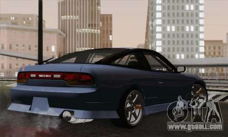 Nissan 180SX S13 for GTA San Andreas left view