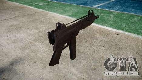 Gun SMT40 no butt icon3 for GTA 4 second screenshot