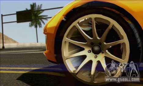 Invetero Coquette for GTA San Andreas back left view
