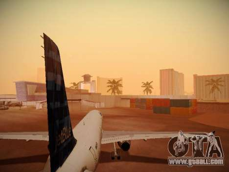 Airbus A321-232 jetBlue Whole Lotta Blue for GTA San Andreas