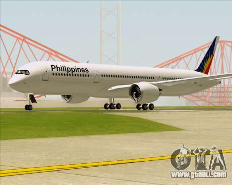 Airbus A350-900 Philippine Airlines for GTA San Andreas back left view