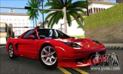 Honda NSX 2005 for GTA San Andreas