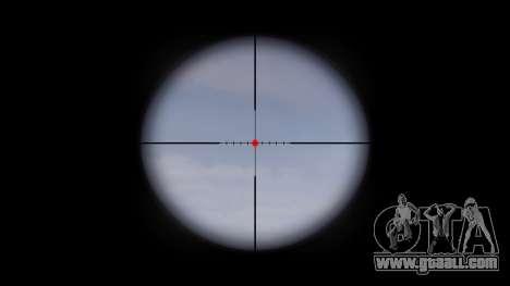Machine QBZ-03-1 target for GTA 4 third screenshot
