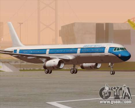 Airbus A321-200 American Pacific Airways for GTA San Andreas upper view