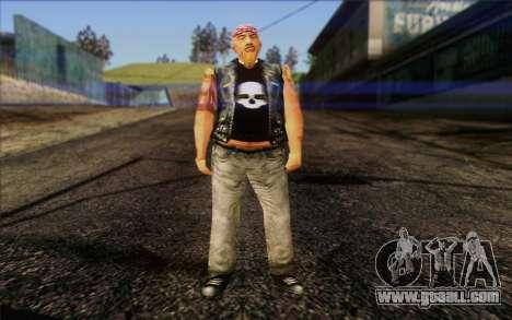 Biker from GTA Vice City Skin 1 for GTA San Andreas