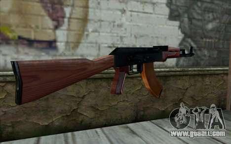 АКМ from Half - Life Paranoia for GTA San Andreas second screenshot