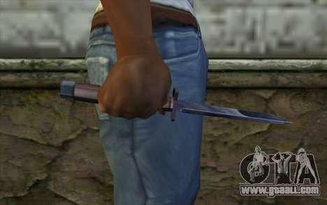 American knife for GTA San Andreas third screenshot