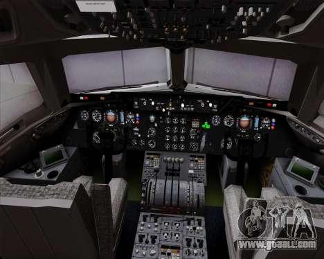 McDonnell Douglas DC-10-30 VARIG for GTA San Andreas interior