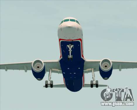 Airbus A321-200 US Airways for GTA San Andreas right view