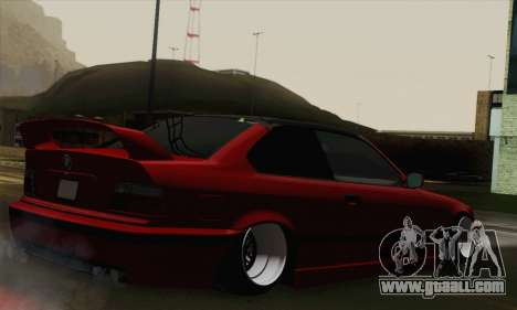 BMW M3 E36 Tuned for GTA San Andreas left view