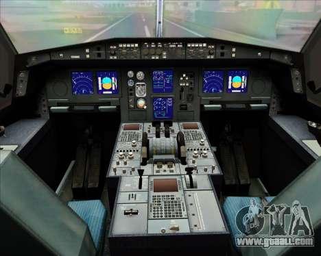 Airbus A330-300 Qantas (New Colors) for GTA San Andreas interior