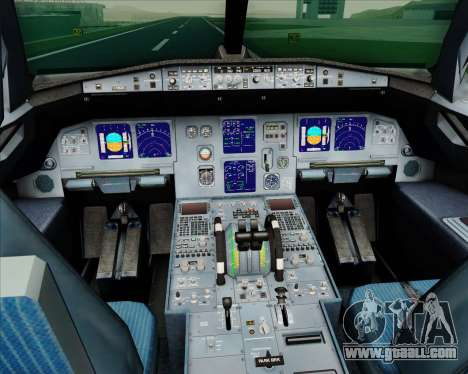 Airbus A321-200 LTU International for GTA San Andreas interior