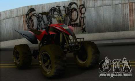 Quad from GTA 5 for GTA San Andreas