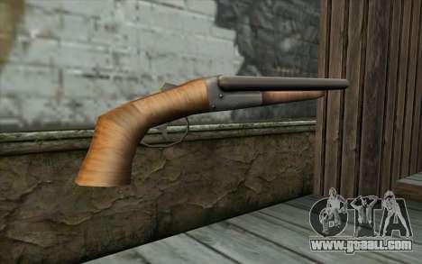 Sawn Off Shotgun from Beta Version for GTA San Andreas second screenshot