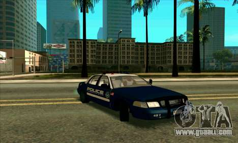 FCPD Ford Crown Victoria for GTA San Andreas