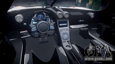 Koenigsegg Agera R 2013 [EPM] RX-93 for GTA 4 back view