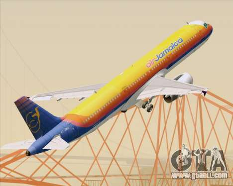 Airbus A321-200 Air Jamaica for GTA San Andreas