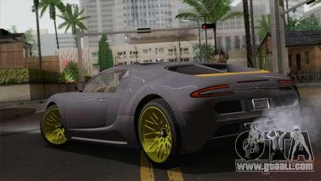 GTA 5 Adder (IVF) for GTA San Andreas left view