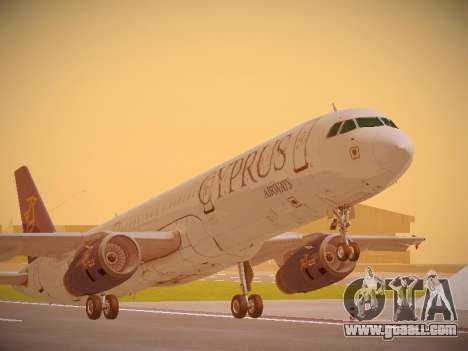 Airbus A321-232 Cyprus Airways for GTA San Andreas
