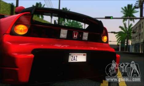 Honda NSX 2005 for GTA San Andreas left view