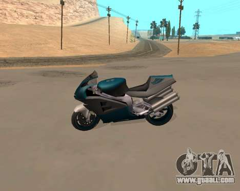 NRG-500 Winged Edition V.1 for GTA San Andreas side view