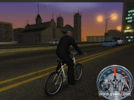 Classic metal speedometer for GTA San Andreas fifth screenshot