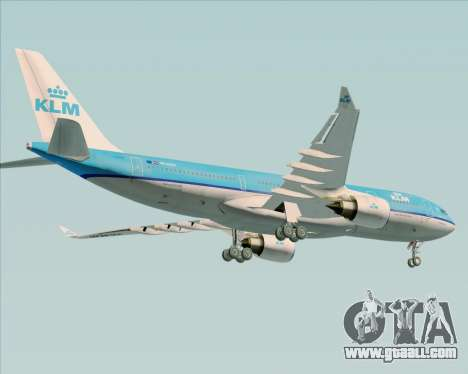 Airbus A330-200 KLM - Royal Dutch Airlines for GTA San Andreas engine