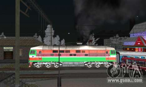 TEP 70 WARHEAD for GTA San Andreas left view