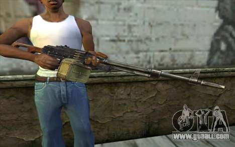 The Machine Gun Kalashnikov Modernized for GTA San Andreas third screenshot