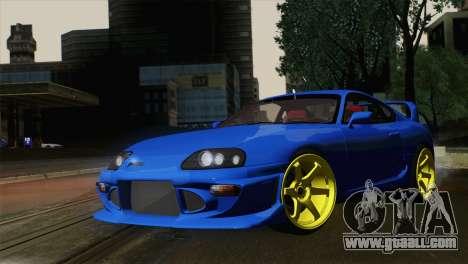 Toyota Supra Twin Turbo for GTA San Andreas