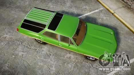 Oldsmobile Vista Cruiser 1972 Rims2 Tree6 for GTA 4 right view