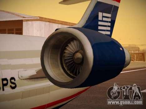 Bombardier CRJ-700 US Airways Express for GTA San Andreas wheels