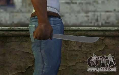 Machete (DayZ Standalone) v2 for GTA San Andreas third screenshot