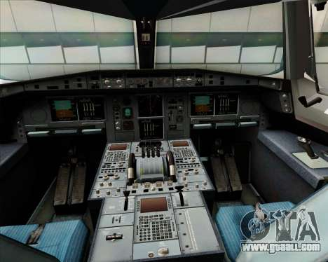 Airbus A380-800 Japan Airlines (JAL) for GTA San Andreas interior
