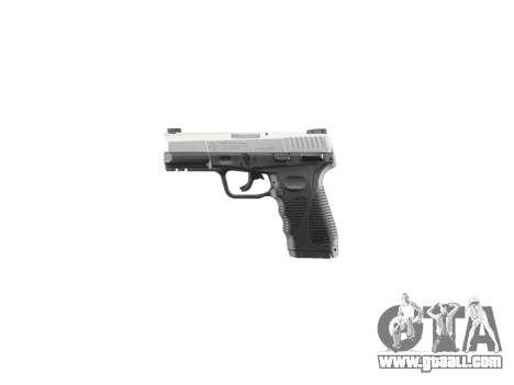 Pistol Taurus 24-7 titanium icon2 for GTA 4 third screenshot